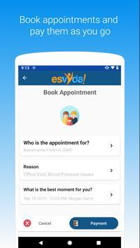 esvyda, telehealth and remote patient monitoring screenshot 2