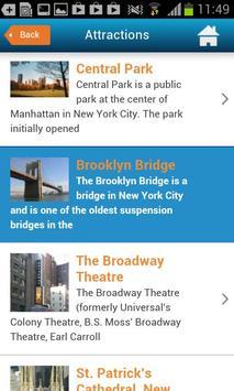 NYC Guide New York Map Weather screenshot 6