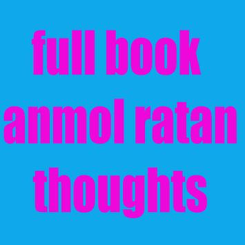 full book anmol ratan thoughts poster