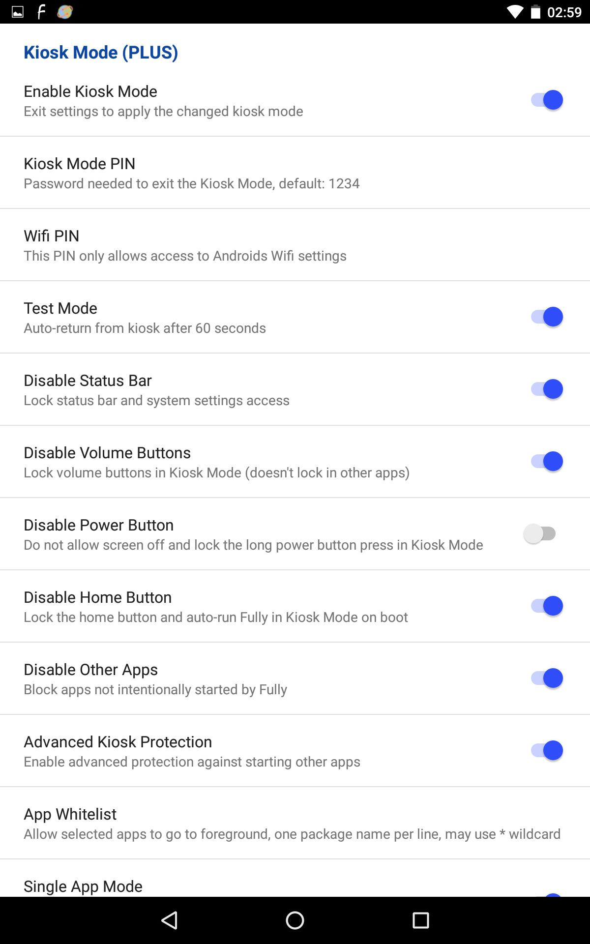 Fully Single App Kiosk for Android - APK Download