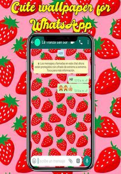 Wallpaper Cute screenshot 14