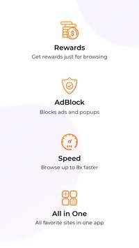Fulldive Browser: Fast Money Browser screenshot 1