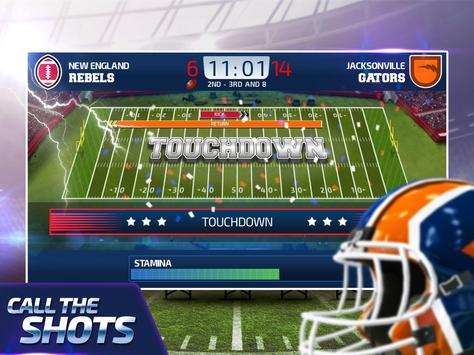 All Star Quarterback 20 - American Football Sim captura de pantalla 5