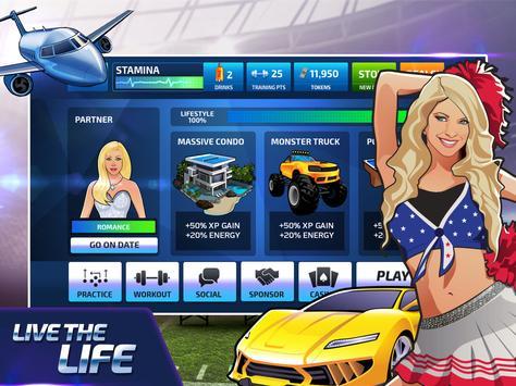 All Star Quarterback 20 - American Football Sim captura de pantalla 7