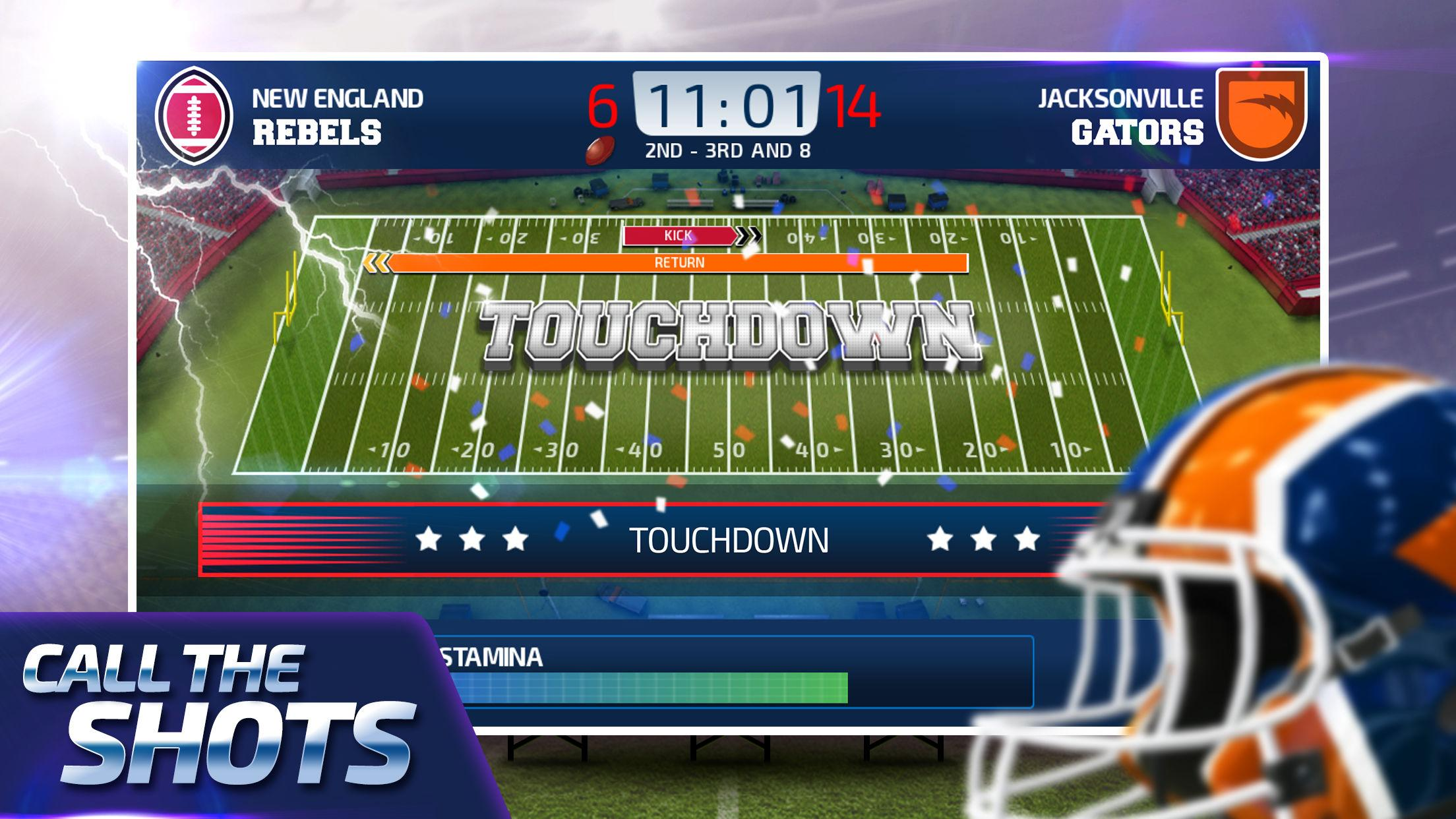 All Star Quarterback 20 - American Football Sim for Android