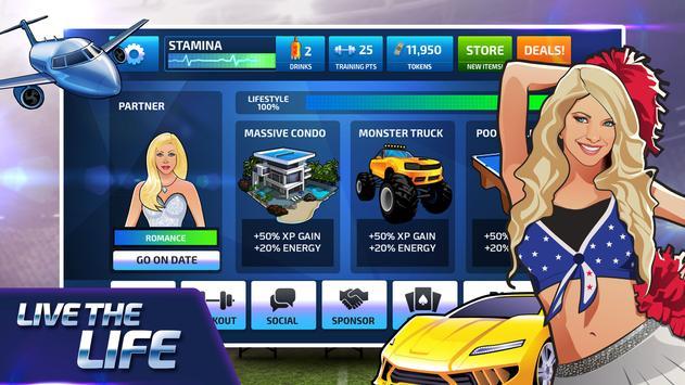 All Star Quarterback 20 - American Football Sim captura de pantalla 12