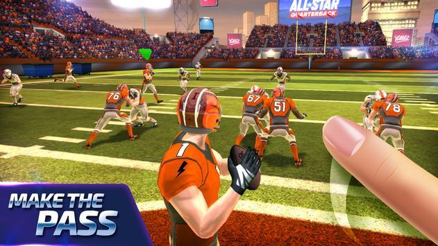 All Star Quarterback 20 - American Football Sim captura de pantalla 1