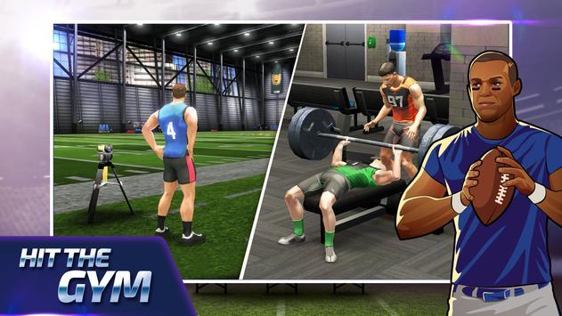 All Star Quarterback 20 - American Football Sim captura de pantalla 3
