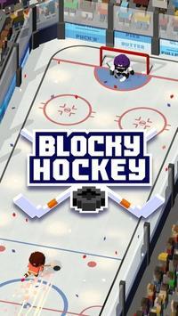 Blocky Hockey poster