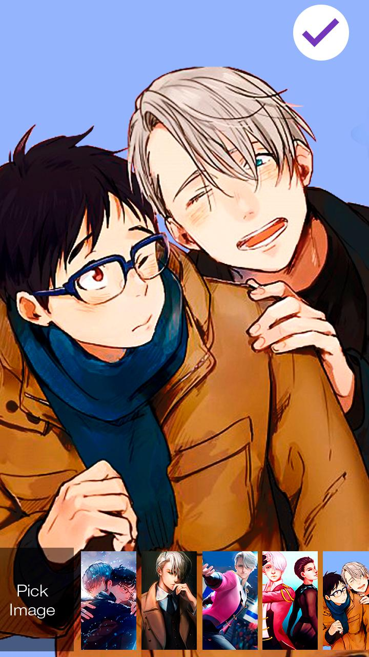 Cute Yuri Anime Wallpaper Ice Skating Screen Lock For Android Apk Download