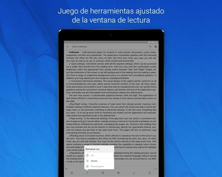 FullReader captura de pantalla 10