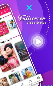 Full Screen Video Status And Sticker screenshot 1