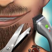 Barber Shop Hair Salon Beard Hair Cutting Games icon