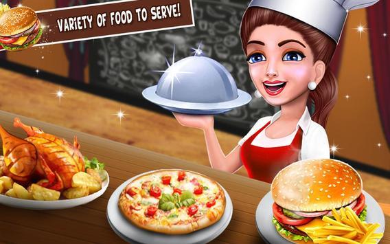 Super cerita chef dapur permainan restoran memasak screenshot 7