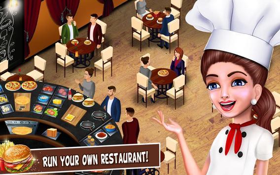 Super cerita chef dapur permainan restoran memasak screenshot 8