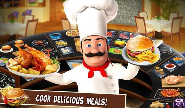 Super cerita chef dapur permainan restoran memasak screenshot 11