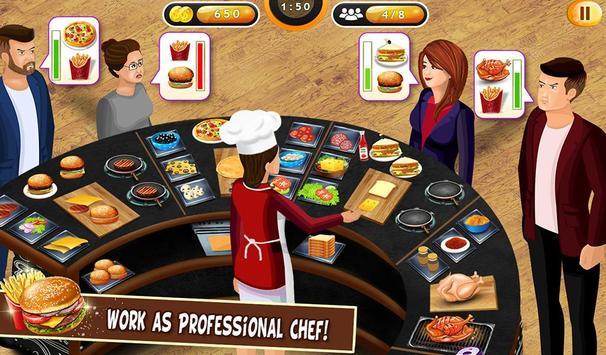 Super cerita chef dapur permainan restoran memasak screenshot 14