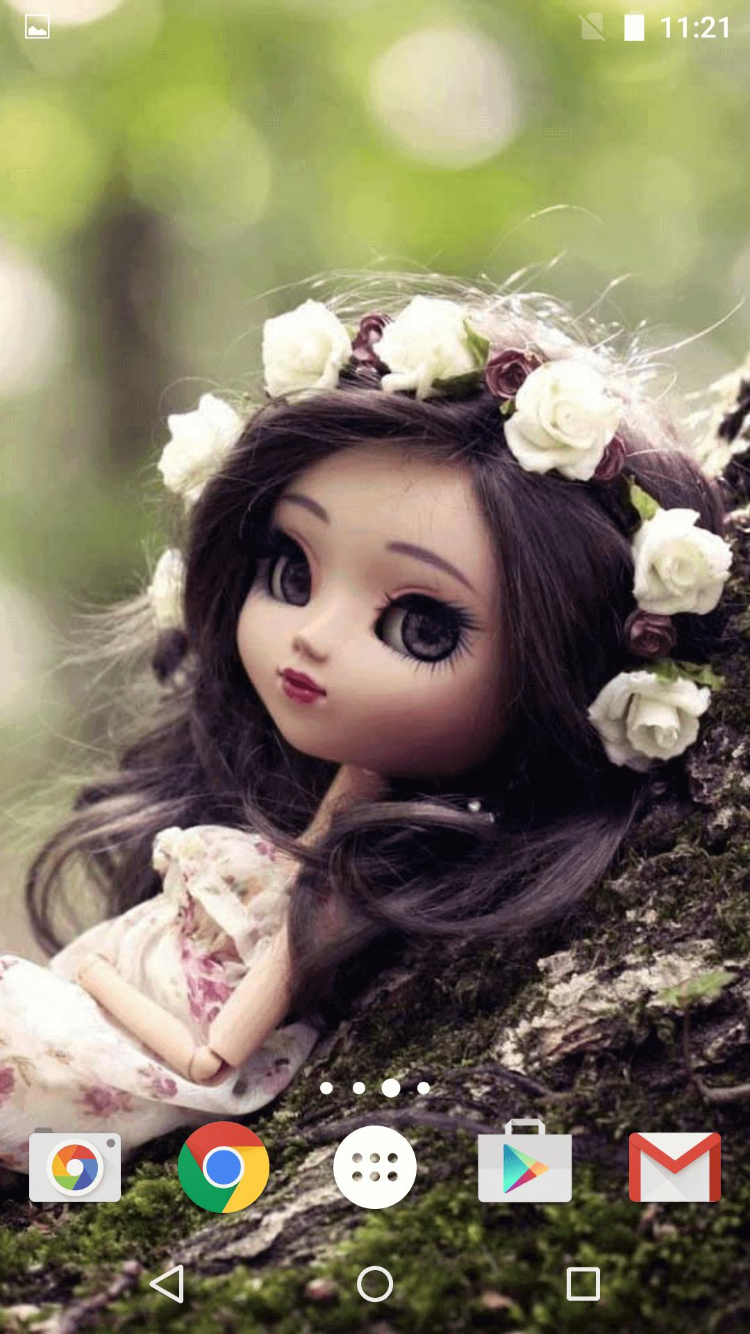 Cute Dolls Live Wallpaper For Android APK Download