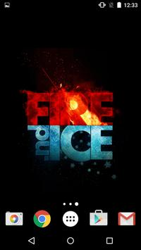 Fire and Ice Live Wallpaper screenshot 7