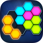 Super Hex Blocks - Hexa Block Puzzle Zeichen