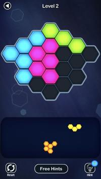 Super Hex Blocks - Hexa Block Puzzle Plakat