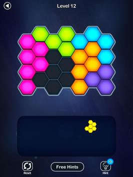 Super Hex Blocks - Hexa Block Puzzle Screenshot 16