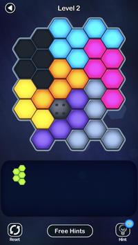 Super Hex Blocks - Hexa Block Puzzle Screenshot 6