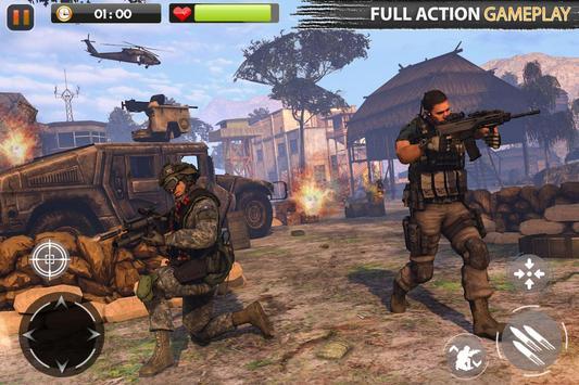 Real Commando Secret Mission screenshot 1
