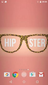 Hipster Live Wallpaper screenshot 3