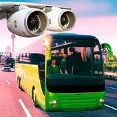 Bus Simulator Free Game 2019:City Airport Driving icon