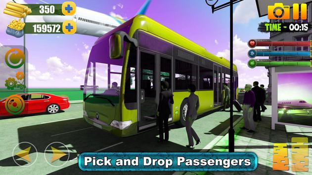 Bus Simulator Free Game 2019:City Airport Driving screenshot 3