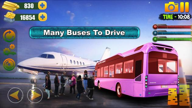 Bus Simulator Free Game 2019:City Airport Driving screenshot 4