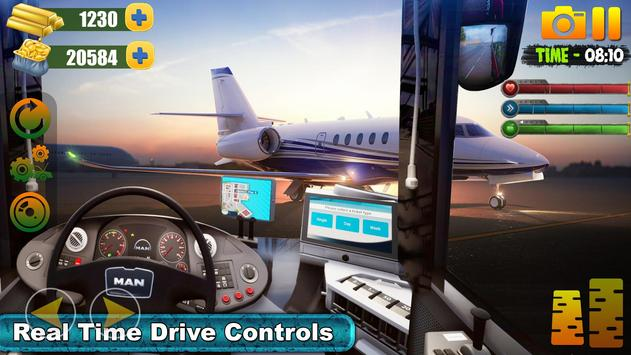 Bus Simulator Free Game 2019:City Airport Driving screenshot 5