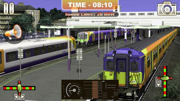 Euro Train Driving Simulator 2019:Free Train Games screenshot 2