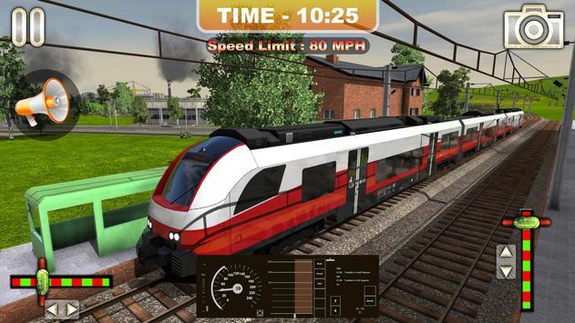 Euro Train Driving Simulator 2019:Free Train Games screenshot 6