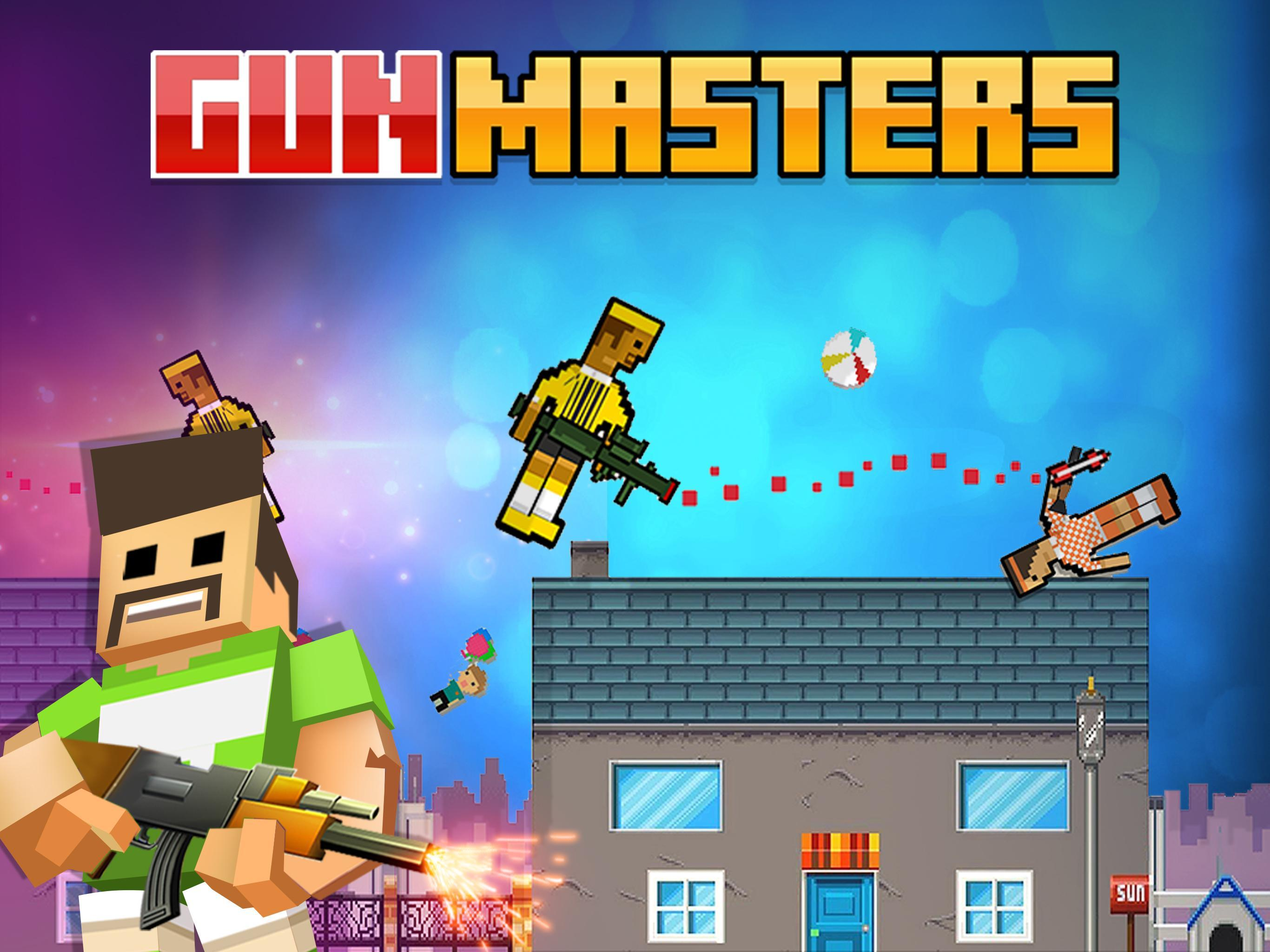 Gun Masters Funny Snipers Two Player Physics Games For Android