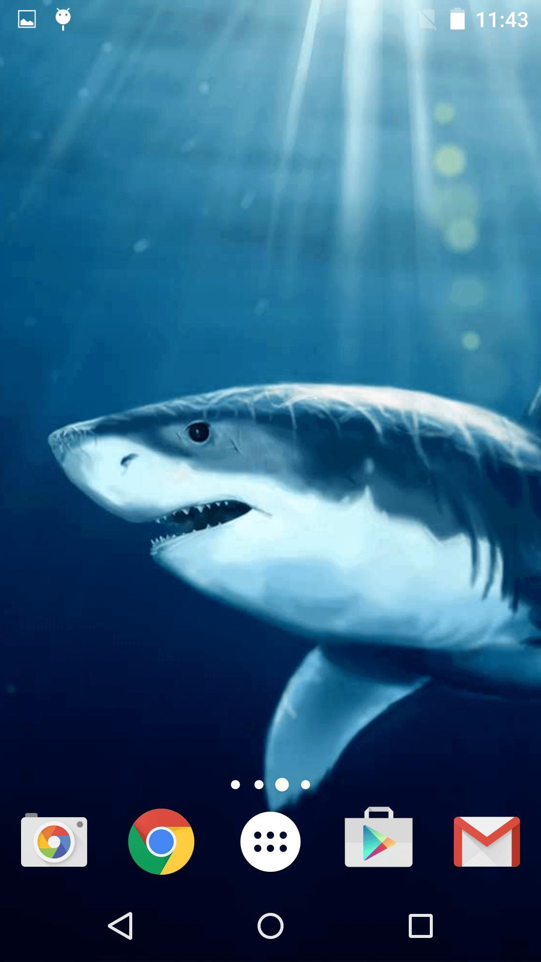Android 用の サメ ライブ壁紙 Apk をダウンロード