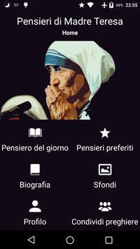 Pensieri di Madre Teresa di Calcutta plakat