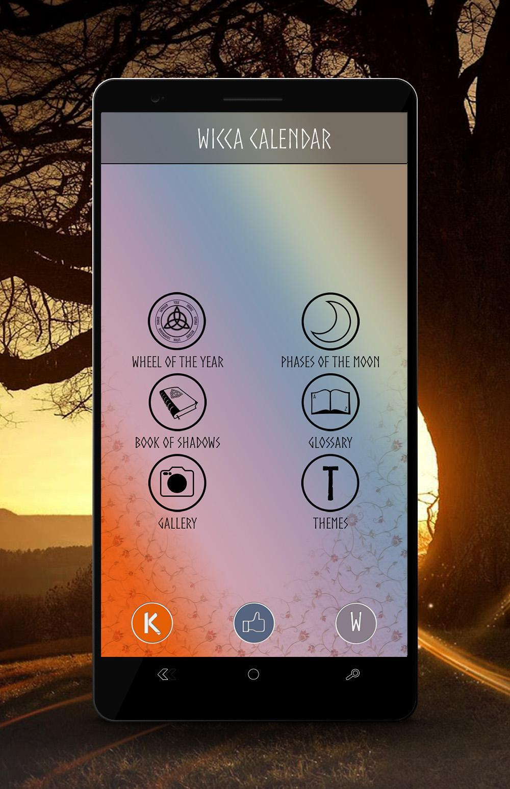 Wicca Calendar for Android - APK Download