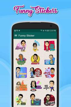 Funny Stickers(WAStickersApp) screenshot 3