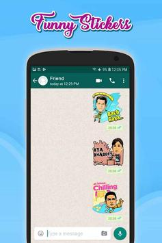 Funny Stickers(WAStickersApp) screenshot 1