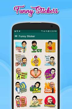 Funny Stickers(WAStickersApp) screenshot 2