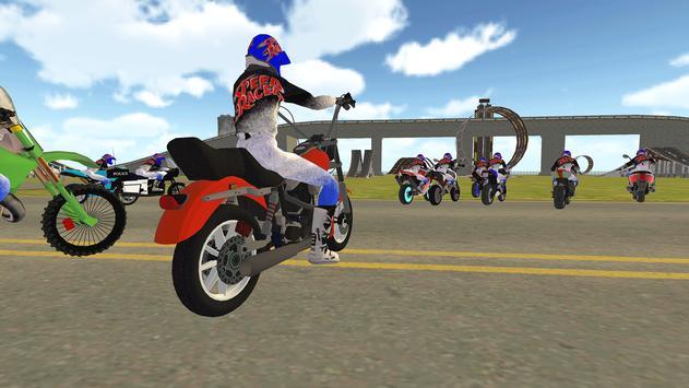 Bike Rider VS Cop Car - Police Chase & Escape Game screenshot 10