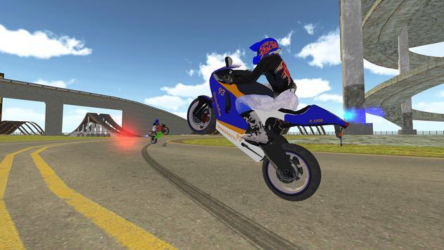 Bike Rider VS Cop Car - Police Chase & Escape Game screenshot 4