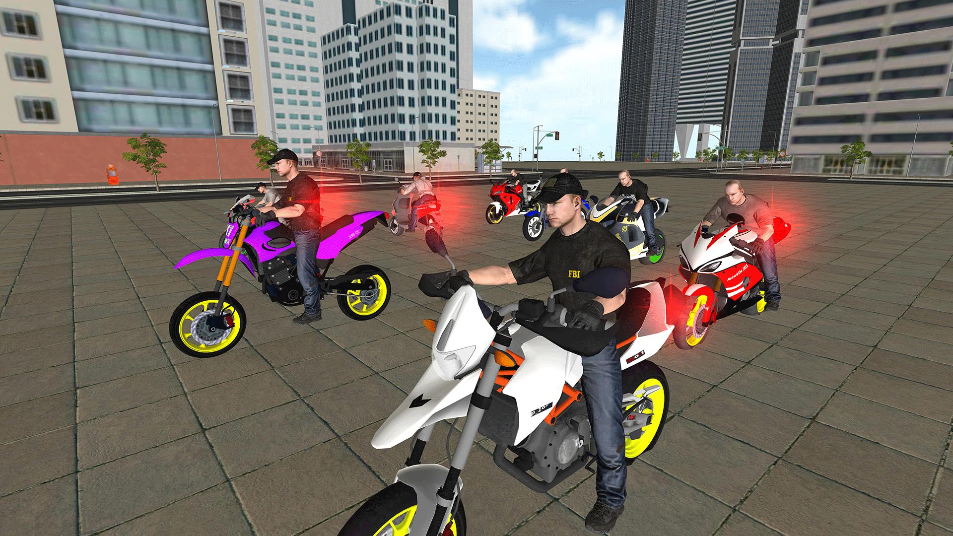 Bike Police Pursuit: Cop Chase & Escape for Android - APK