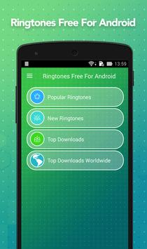 Ringtones Free For Android poster