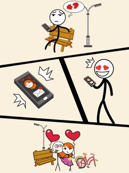 Draw Story: Love the Girl screenshot 13