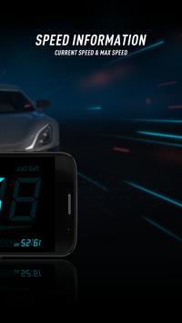 HUD Speedometer to Monitor Speed and Mileage screenshot 1