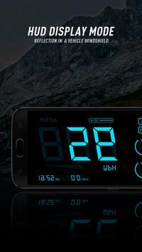 HUD Speedometer to Monitor Speed and Mileage screenshot 2