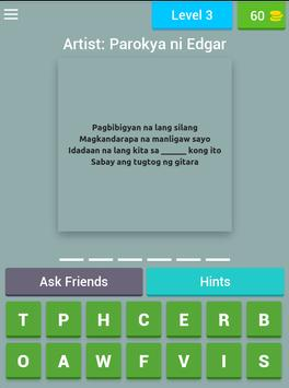 Missing OPM Lyrics Quiz screenshot 10